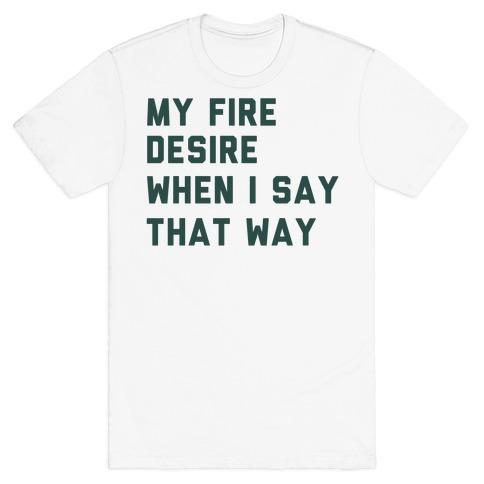 I Want It That Way Lyrics (1 of 2 pair) T-Shirt