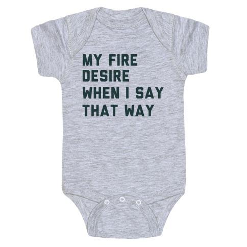 I Want It That Way Lyrics (1 of 2 pair) Baby Onesy