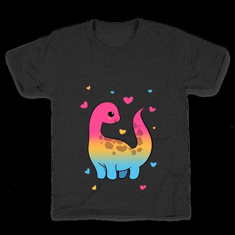 Pansexual-Dino Kids T-Shirt