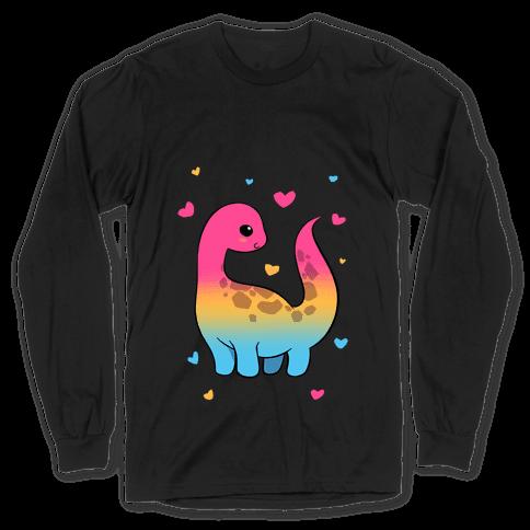 Pansexual-Dino Long Sleeve T-Shirt