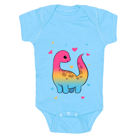 Pansexual-Dino Baby One-Piece