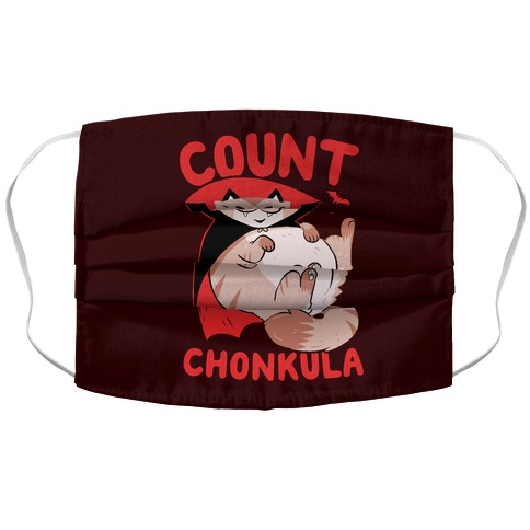 Count Chonkula Accordion Face Mask