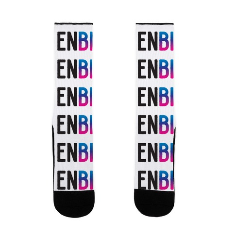 Enbi Bisexual Non-binary Sock