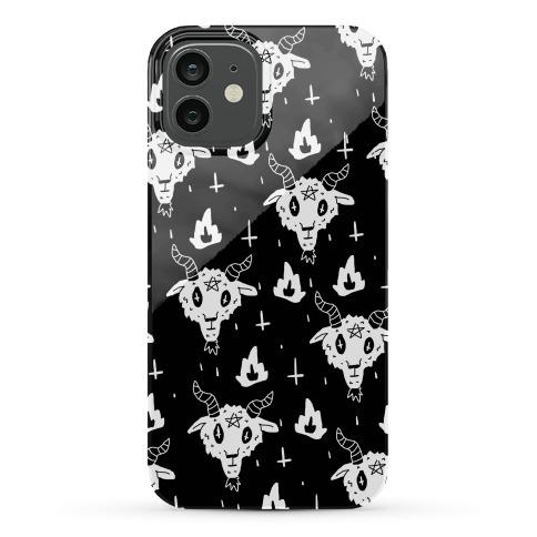 Spicy Heck Boy Satan Pattern Phone Case