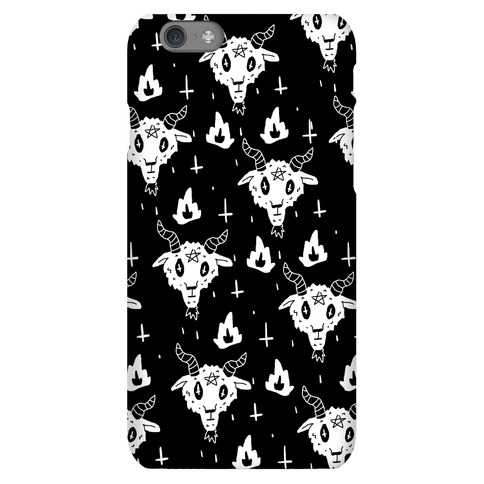 Spicy Heck Boy Satan Pattern Phone Case