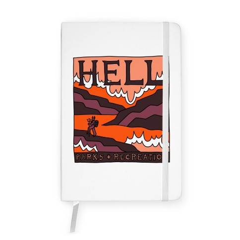 Hell Parks & Recreation Notebook