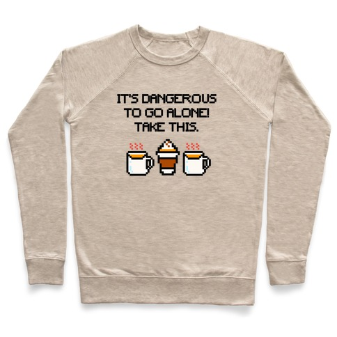 It's Dangerous To Go Alone Take This Pumpkin Parody Pullover