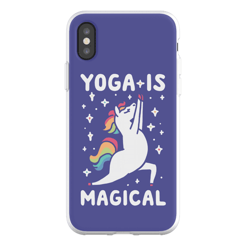 Yoga Is Magical Phone Flexi-Case