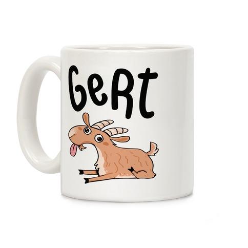 Gert Derpy Goat Coffee Mug