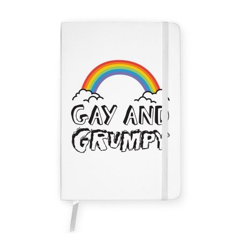 Gay And Grumpy Notebook