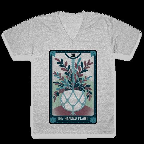 The Hanged Plant V-Neck Tee Shirt