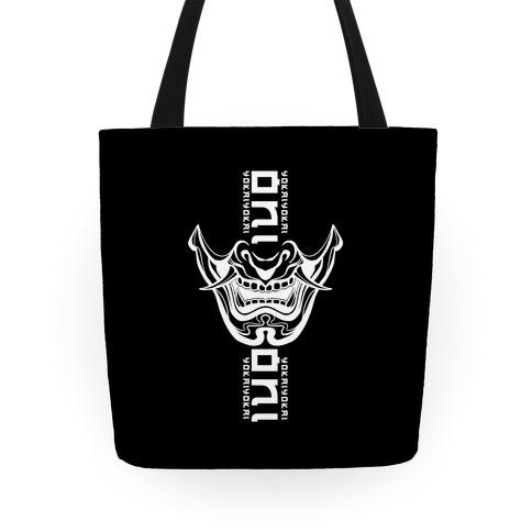 Oni Yokai (black) Tote
