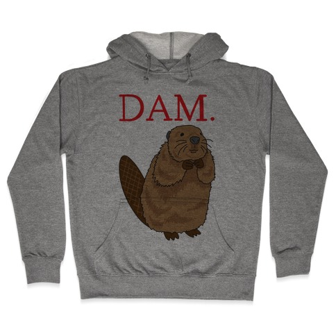 DAM. Parody Hooded Sweatshirt