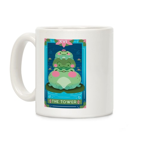 The Tower of Frogs Coffee Mug