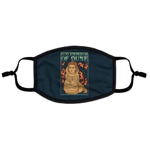 God Emperor Of Dune Timothe Chalamet Flat Face Mask