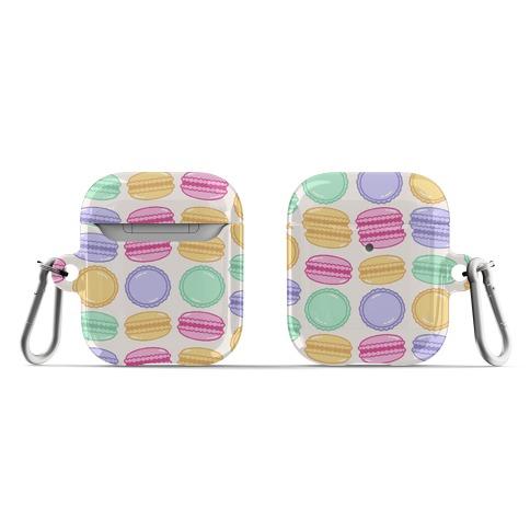 Macaron Pattern AirPod Case