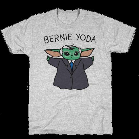 Bernie Yoda Mens/Unisex T-Shirt