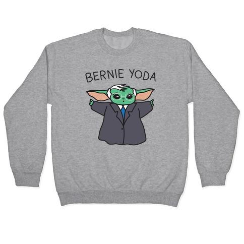 Bernie Yoda Pullover
