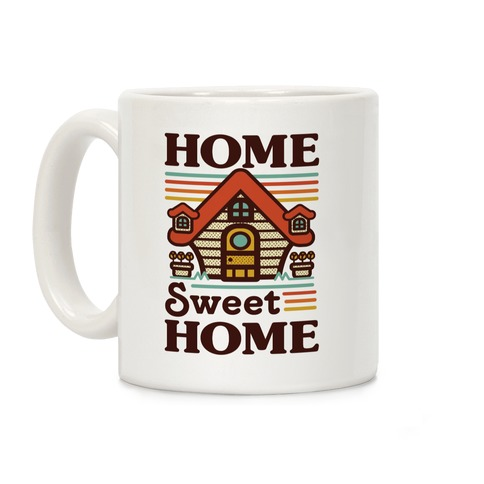 Home Sweet Home Animal Crossing Coffee Mug