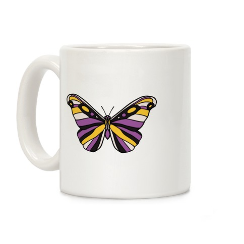 Non-binary Butterfly Coffee Mug