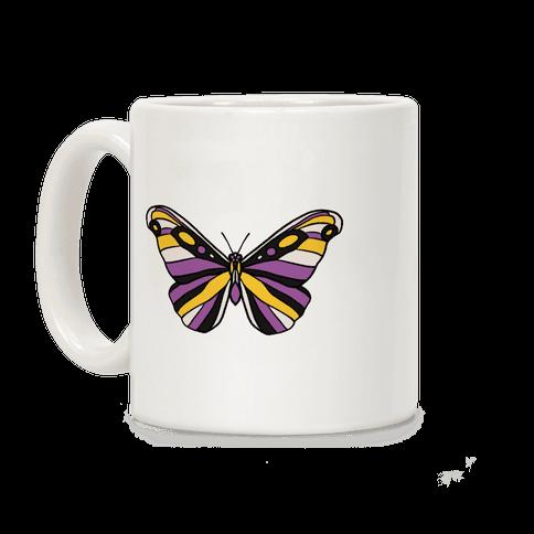 Non-binary Butterfly Coffee Mug