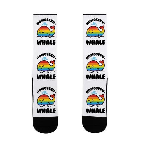 Homosexu-Whale Sock