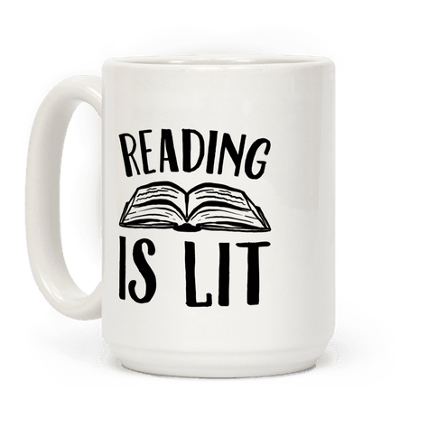 Reading Is Lit Coffee Mug