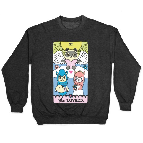 The Alpaca Lovers Tarot Pullover
