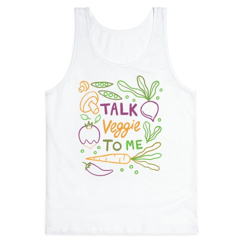 Talk Veggie To Me Tank Top
