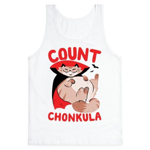 Count Chonkula Tank Top
