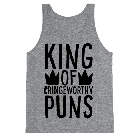 King of Cringeworthy Jokes  Tank Top