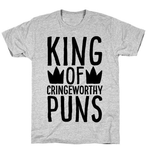 King of Cringeworthy Jokes Mens/Unisex T-Shirt