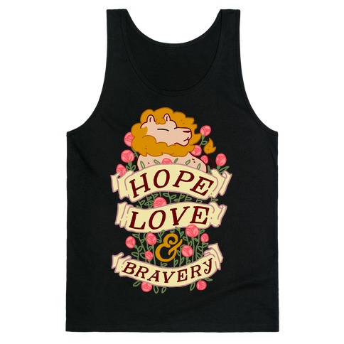 Hope Love & Bravery Tank Top