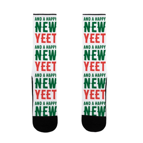 And A Happy New YEET Sock