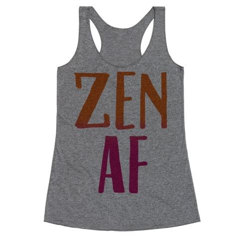 Zen Af Racerback Tank Top