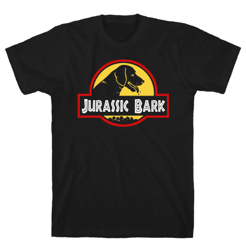 Jurassic Bark Mens T-Shirt