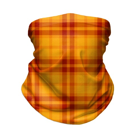 Autumn Plaid Neck Gaiter