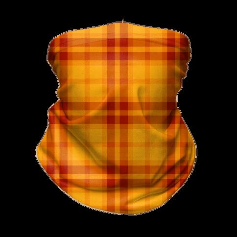 Autumn Plaid Neck Gaiter