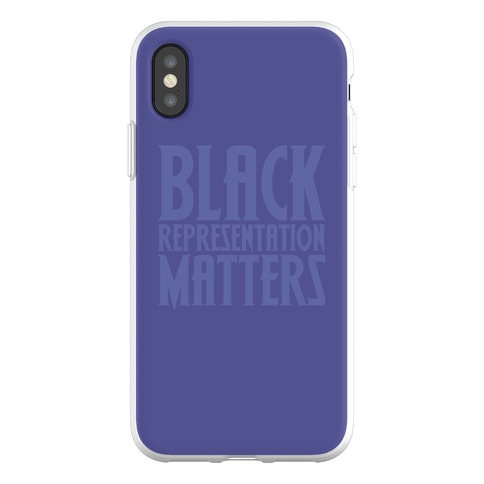 Black Representation Matters Phone Flexi-Case