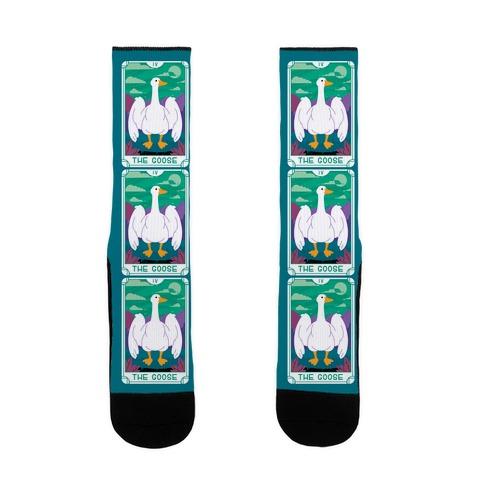 The Goose Tarot Sock