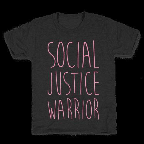 Social Justice Warrior Kids T-Shirt