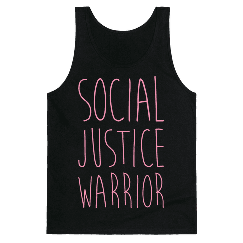 Social Justice Warrior Tank Top