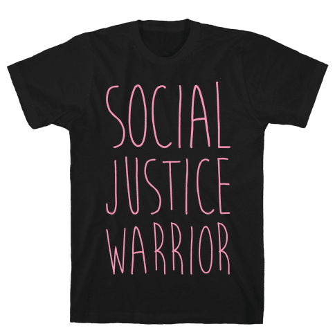 Social Justice Warrior Mens T-Shirt