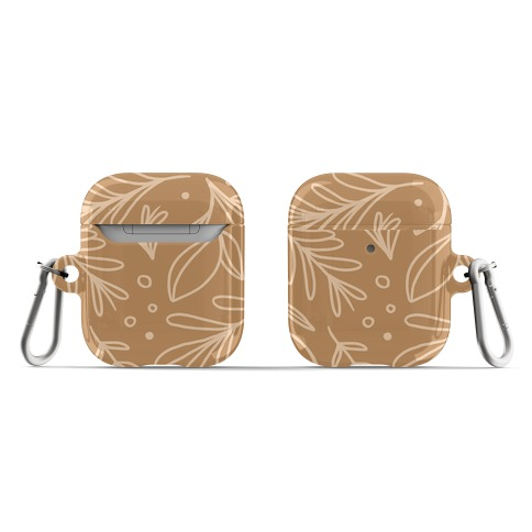 Tan Botanicals AirPod Case
