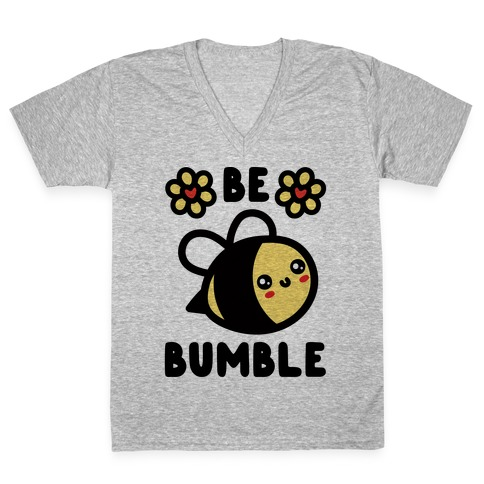 Be Bumble V-Neck Tee Shirt