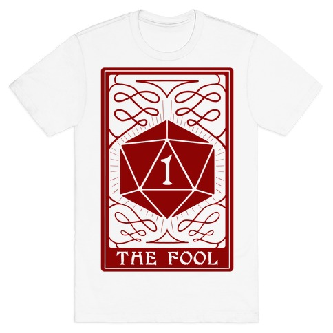 The Fool Nat1 Tarot Card T-Shirt