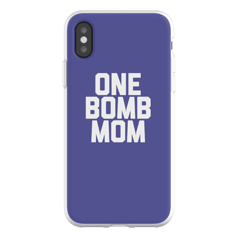 One Bomb Mom Phone Flexi-Case