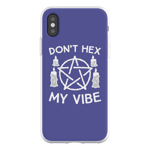 Don't Hex My Vibe Phone Flexi-Case
