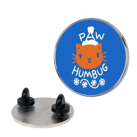 Paw Humbug Cat Pin