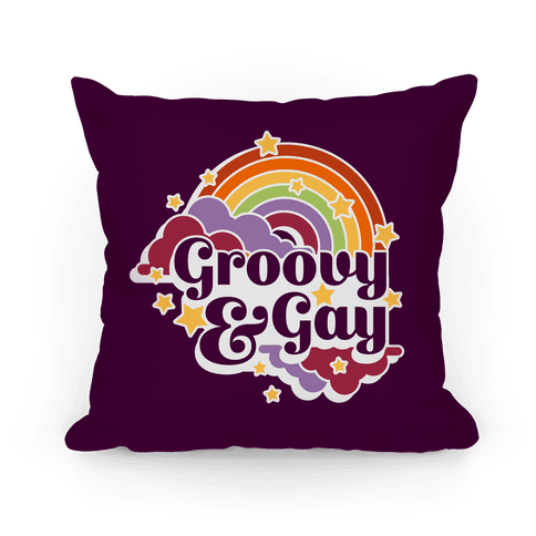 Groovy & Gay Pillow